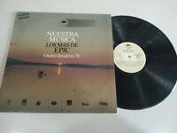 "Lo Mas de Epic 1978 Meat Loaf Boston Elo - LP 12 "" Vinili VG/VG"