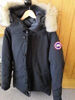 Canada Goose Chateau Parka Fusion Fit Black Medium RRP £895