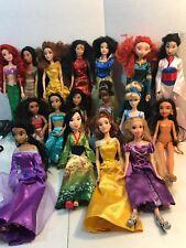 Large Lot Of 17 Disney Princess Dolls Barbie