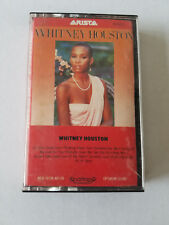 """♫ WHITNEY HOUSTON SELF TITLED DEBUT CASSETTE W/ """"HOW WILL I KNOW"""" FREE SHIPPING!"""