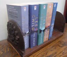 VINTAGE decorata in legno intagliato scorrevole che si estende LIBRO Trogolo, Scaffale, CD DVD