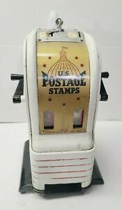 Vintage US POSTAGE STAMPS Vending Machine Counter Top Dime Nickel 2 & 3 Cent