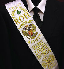 RAOB - Honorary Members  Sash - With your own details on it