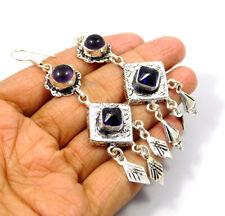 Handmade Earring Jewelry Mjc9419 Tanzanite Quartz .925 Silver Plated