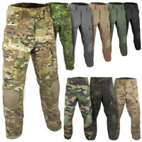 Bulldog Rogue MK2 Military Army PCS Combat Airsoft Trousers Pants With Knee Pads
