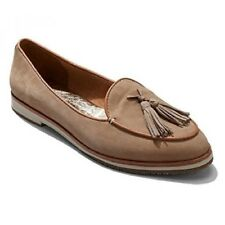 Tommy Bahama Women's Finna Flat Casual Dress Shoe, Sand Nubuck 8.5 M