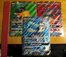 NM Pokemon JUMBO/OVERSIZED Card GX Lot#M Decidueye 37+Incineroar SM38+Primarina