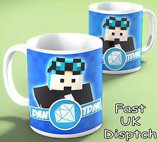 DAN TDM 11oz Mug - Birthday / Christmas Gift. The Diamond Minecart Cup 321