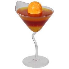 72 x Plastic Small Z-Stem Martini Cups 70ml - Wholesale/Bulk  (Ref: 103)