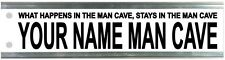 Man Cave Street Sign - Fathers Day Gift - Your Design Birthday Christmas 2