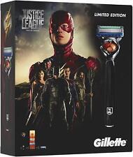 Gillette Fusion Pro Glide Razor Gift Set DC Justice League Limited Edition BNIB