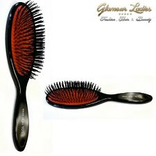 Hair Extension Brush, Head Jog 101,Rubber Cushion,Nylon Bristle Professional