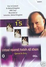 NUSRAT FATEH ALI KHAN VOL 15 - LIVE IN LEICESTER (1985)