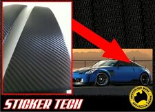 3M 1080 CARBON FIBRE B PILLAR OVERLAY STICKER DECAL MADE TO SUIT 350Z 370Z