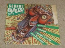 "Sounds Blasts! EP1 Iggy Pop Fishbone 7"" Single - VG"
