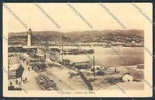 Trieste Faro cartolina C2665 SZG