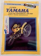 CLYMER Yamaha YZ100-490 Monoshock 1976-1984 Service Repair Manual NEW