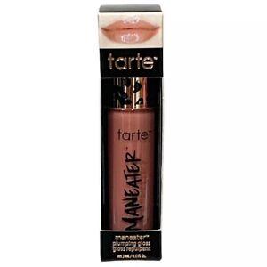 Tarte Maneater Plumping Lip Gloss 3mL/.1oz Full Size New in Box - Buff