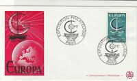 France Europa 1966 Philatelic Exhibition Stamps Cover ref R 18704