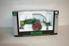 OLIVER 66 Tractor with Spring Tooth Harrow; Scale: 1/16; SpecCast;  NIB
