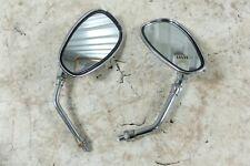 89 Yamaha XV 250 XV250 Virago mirrors mirror set right left hand