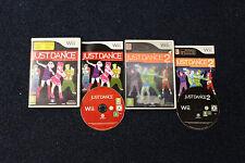 """Just Dance & Just Dance 2-Nintendo Wii """"REGNO UNITO PAL versione 'con le istruzioni"""
