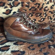 Timberland Brown Leather Mens Boots Size 12M Eu46