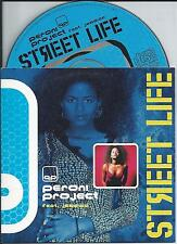 PERONI PROJECT ft JESSICA - Street life CD SINGLE 2TR Italo Eurodance 1997
