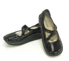 Alegria Black Sparkle Leather Mary Jane Shoes Women's Size US 8-8.5,9, EU 38 ,39
