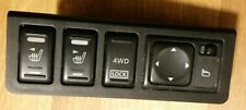 NISSAN MURANO HEATED SEAT MIRROR SWITCH CONTROLS  BUTTON MK1