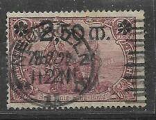 D. Reich 1920 Mi 118 gest. signiert 250.- ++++++++++++++++++++++++++++++++
