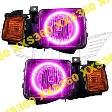 ORACLE Halo 2x HEADLIGHTS Hummer H3 06-10 PINK LED Angel Demon Eyes