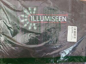 Illumiseen LED Dog Vest | Orange Safety Jacket with Reflective Strips & XL