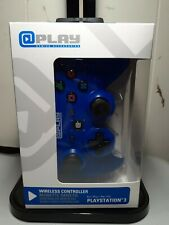 @ Play Gaming Accessories Playstation 3 Wireless Controller- BLUE New.