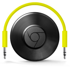 Google Chromecast Audio Musik Streaming über App Aux Wlan Schwarz NEU OVP
