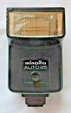 Minolta Auto 25 Flash Hot Shoe Fitting One Stop Auto With Case    C1
