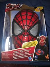 THE AMAZING SPIDER-MAN 2-SPIDER vision Mask-Maschera si illumina DISCHI WEB!