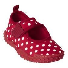 Calzado de niña chanclas rojos rojos