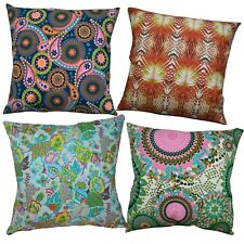 Pillow Cover*Paint Cotton Canvas Sofa Seat Pad Cushion Case Custom Size*AF6
