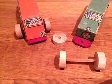 2 Roues en bois pour voiture RL de 15mm