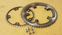 2x Shimano Dura-Ace 7900 Chainrings (42 + 53t) 10s Road Bike Chain Rings 130bcd