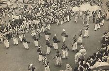 1940s Vintage Lionel Wendt Perahera Festival Sri Lanka Photo Gravure Print