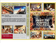 THE NIGHT THE ANIMALS TALKED (1970) DVD - CASE & ARTWORK - SHIPS FROM USA!