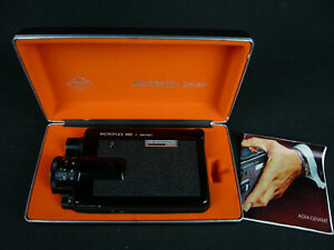 AGFA MICROFLEX 300 SENSOR SUPER 8 FILMKAMERA MIT BOX UND ANLEITUNG