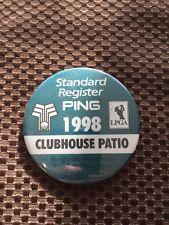 GOLF PING-1998 STANDARD REGISTER PING LPGA BADGE PIN..GOOD CONDITION