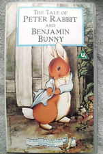 THE TALE OF PETER RABBIT AND BENJAMIN BUNNY VHS 1992