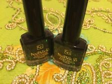 2X Cover Girl NailSlicks Nail Polish 382 Midnight Forest Frost Build in Topcoat