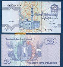 Egypte - 25 Piastres 1985 2007 Neuf Unc - Egypt