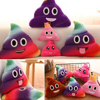 Hot Poop Poo Family Emoticon Pillow Stuffed Plush Toy Soft Cushion Doll