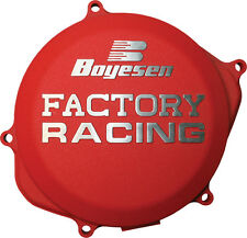 BOYESEN FACTORY RACING CLUTCH COVER (RED) CC-07AR Fits: Honda CRF250R